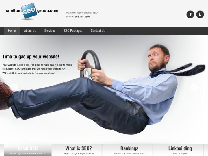 Hamilton Web design & SEO